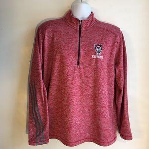 Adidas NC State Zippered Shirt